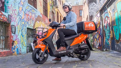 kymco scooter taps growing delivery sector motorbike writer