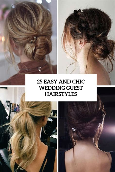 25 easy and chic wedding guest hairstyles obsigen