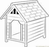 Dog Coloring Houses Pages Coloringpages101 Pdf sketch template