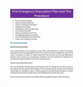 sample evacuation plan template 9 free documents in pdf With fire evacuation procedure template free