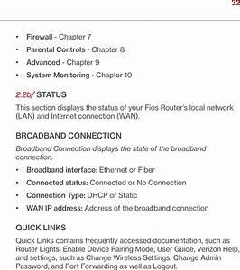 Verizon Online G2100 Fios