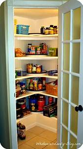 A Corner Pantry Made from Scratch In the corner, Walk in