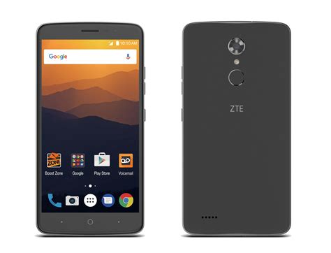 zte announces  max xl     display  android