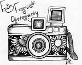 Camera Drawing Dessin Drawings Simple Painting Tekeningen Draw Cameras Doodle Tekening Appareil Tattoos Easy Sketch Kunst Deviantart Coloring Retro Fotografie sketch template