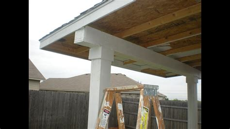 build  patio cover pt    edition youtube