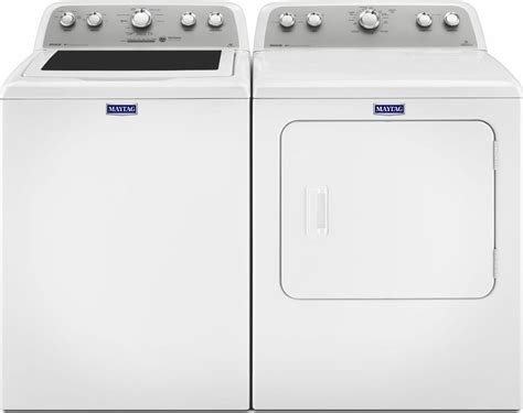 Maytag Mvwx655dw Top Load Washer & Medx655dw Electric Dryer