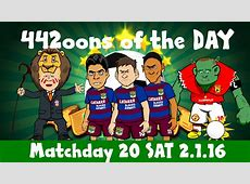 442oons Matchday 20 ft Wayne Rooney, Liverpool & much