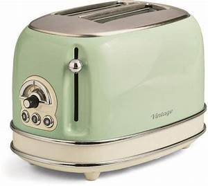 Toaster Retro Design : ariete toaster vintage f r 2 scheiben 810 w otto ~ Frokenaadalensverden.com Haus und Dekorationen