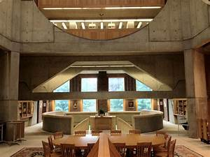 Interior View of the Phillips Exeter Academy Library ...