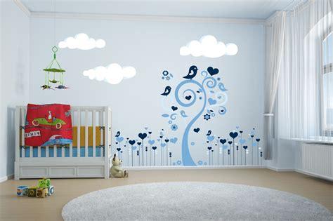 stickers muraux chambre bebe peinture arbre chambre bebe raliss com