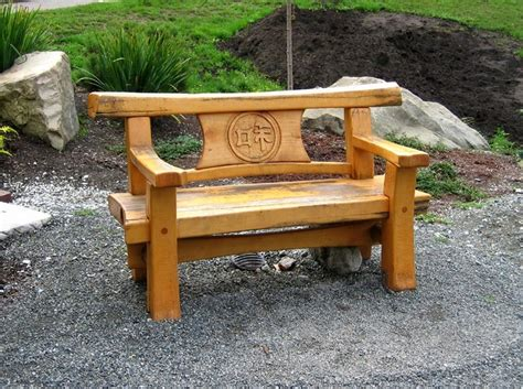 cool japanese garden bench plans design home inspirations