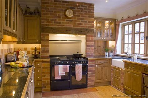 Brick Kitchen Cupboards by Kitchen Idea Of The Day Country Kitchens Brick