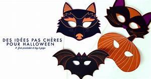 Masque Halloween A Fabriquer : id es pas ch res pour halloween free printable ~ Melissatoandfro.com Idées de Décoration