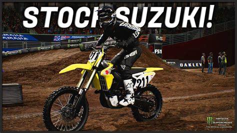 stock suzuki challenge monster energy supercross