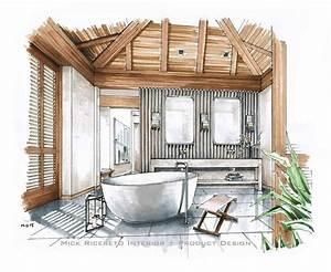 Bathroom Interior Design Sketches Datenlaborinfo