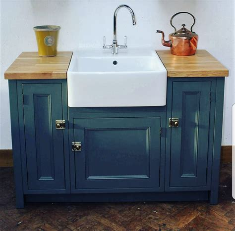 beautifully bespoke freestanding kitchen sink units mudd