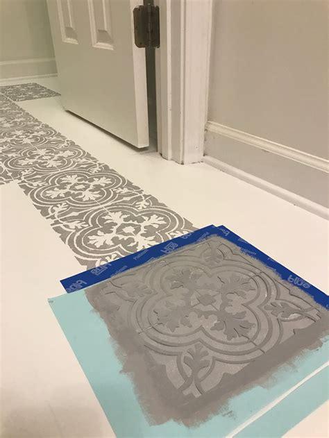 painting floor tiles plum pretty decor design co how to paint your linoleum