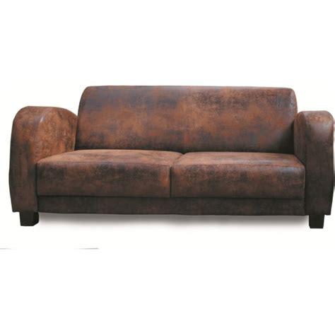 vieux canapé cuir canape 3 places golf les meubles du chalet