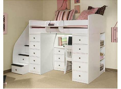 Space Saver Desk Bed by Bunk Beds Desks Loft Bed With Desk Pictured Space Saver