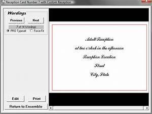 wedding invitation design software the complete wedding With wedding invitation printing software
