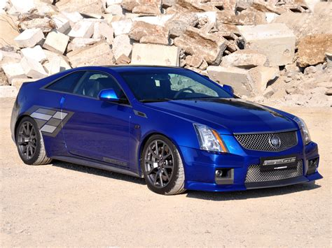 Cadillac Cts Blue by Geiger Cadillac Cts V Coupe Blue Brute 2011
