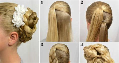 easy step  step tutorials     braided hairstyle