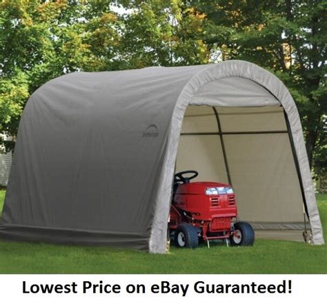portable shade sheds shelterlogic 10x10x8 economy storage shed portable