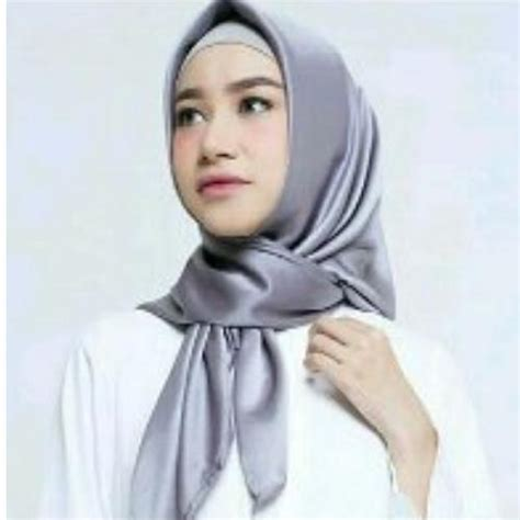harga hijab segi empat satin polos warna merah terbaru wallpaperall