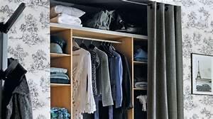 Faire Dressing Dans Une Chambre : superbe comment faire un dressing dans une chambre 2 ~ Premium-room.com Idées de Décoration