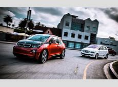 2014 BMW i3 vs 2014 MercedesBenz Bclass Electric Drive