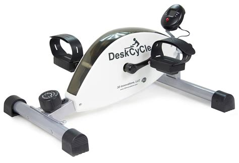 under desk foot pedal exercise at your desk deskcycle product review fityourspace