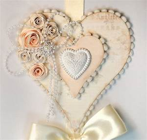 Hanging hearts wall decor pazzles craft room