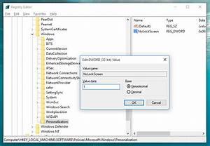 Windows 10 lock screen path, at first glance, path to