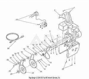 Mtd 31ae6c0f022 Snow Thrower 826  2001  Parts Diagram For