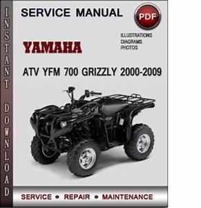 Yamaha Atv Yfm 700 Grizzly 2000