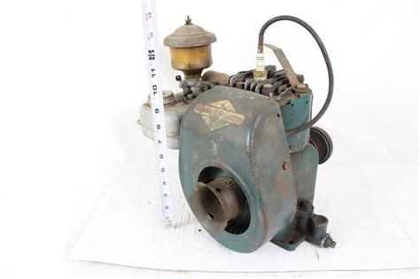 vintage briggs stratton  engine clutch  plex antique
