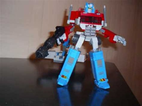 optimus prime ver 1 a lego transformers creation