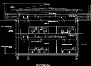 Central Air Conditioning Installation Plan  Office
