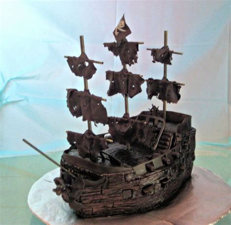 pirate ship cake pirate ship cake   black pearl