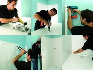 les panneaux de douche en acrylique de jacob delafon