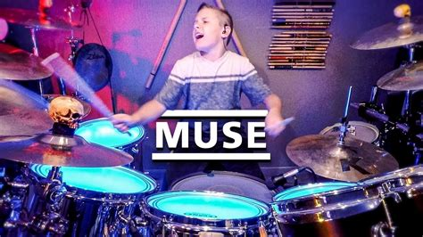 Muse (10 Year Old Drummer) Drum Cover By Avery