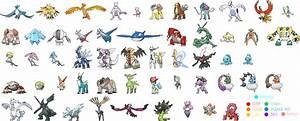 Pokemon All Legendary Pokemon Images | Pokemon Images