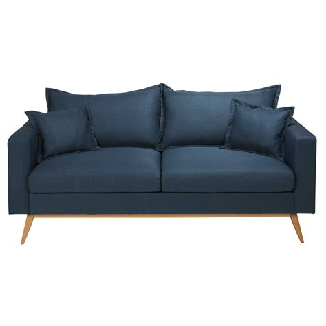 canapé tissu maison du monde canape dangle bleu nuit ciabiz com