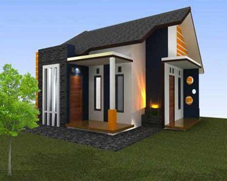 bentuk rumah sederhana ukuran  unik desain rumah