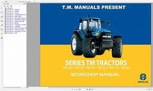 Newholland Series Tm Tractors Workshop Manual
