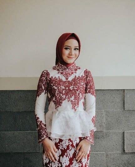 gambar model kebaya hijab terupdate