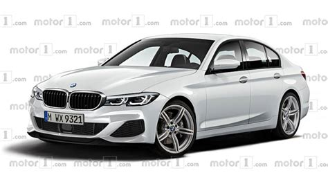 2019 Bmw 3 Series Rendering  Motor1com Photos