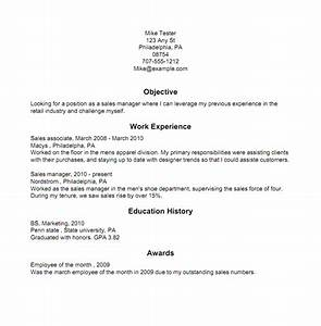 Resume Examples Modern
