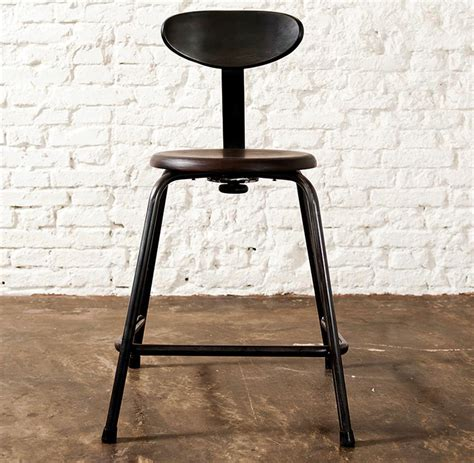 cole industrial reclaimed cast iron dining accent chair