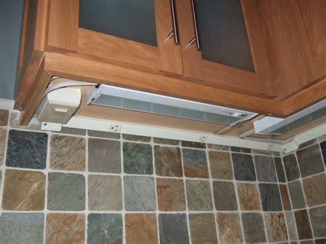 under cabinet lighting with outlets under cabinet outlets neiltortorella com